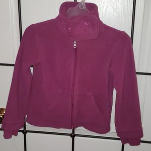 Girl's fleece jacket